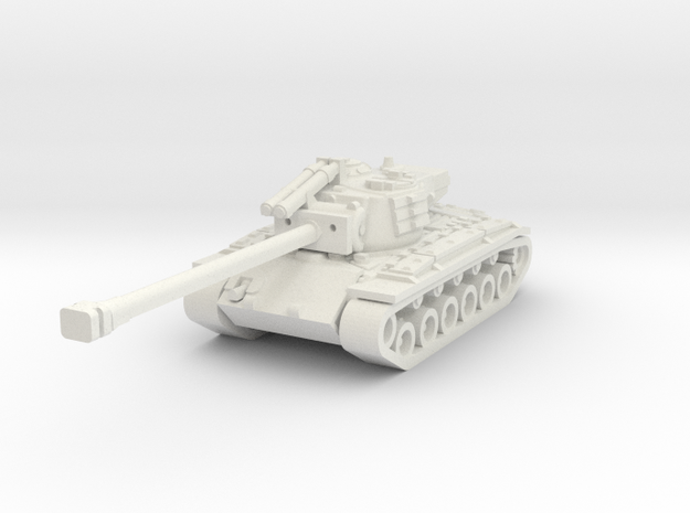 T26E4 SuperPershing in White Natural Versatile Plastic