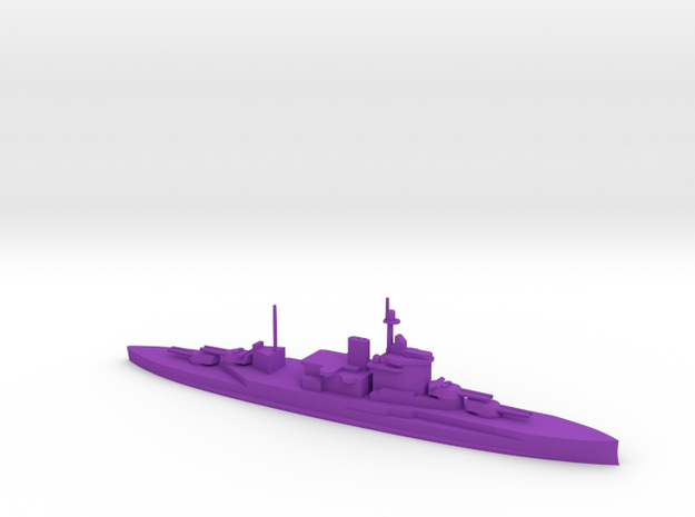1/1200 Warspite in Purple Processed Versatile Plastic