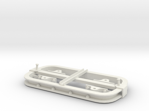 Chassis wagonnet - 7/8n2 in White Strong & Flexible