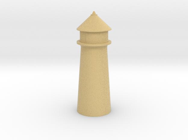 Lighthouse Pastel Orange in Full Color Sandstone