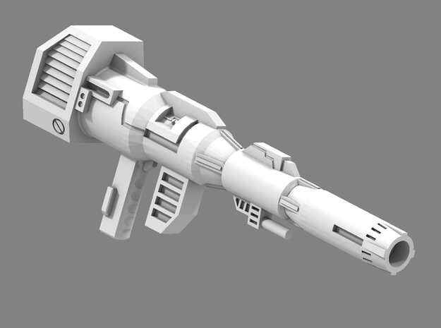 MP Prime Final Pew Pew 11-25 in White Processed Versatile Plastic