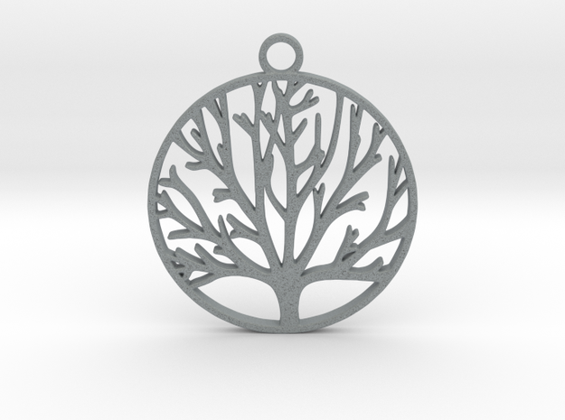 Tree of Life  in Polished Metallic Plastic