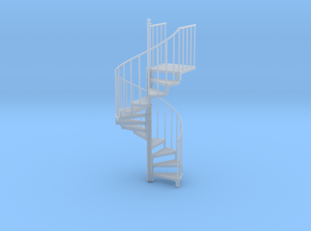 Industrial Spiral Staircase (Counter-Clockwise)