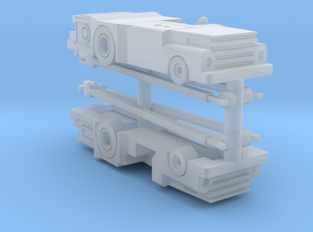 028B MD-3 Tow Tractor Pair 1/144 3d printed