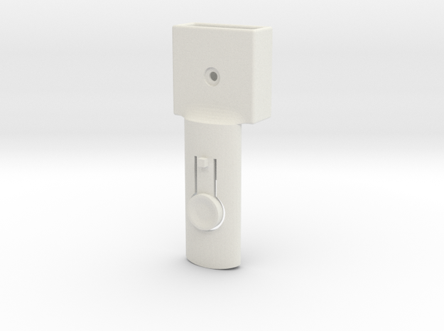 Baby cradle adapter for Quinny Buzz (right) in White Natural Versatile Plastic