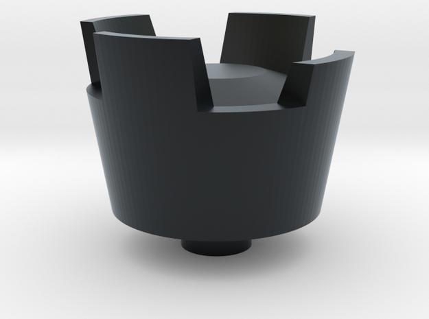 POV switch CASTLE F15 hat in Black Hi-Def Acrylate