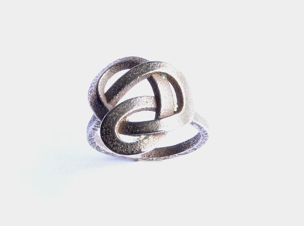 Infinity Love Ring in Stainless Steel: 7 / 54