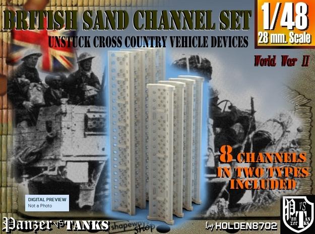 1-48 British Sand Channel Set