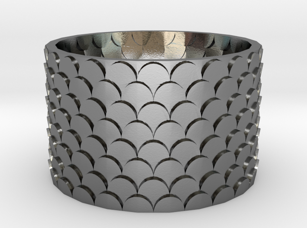 Pine Cone Ring 3d printed