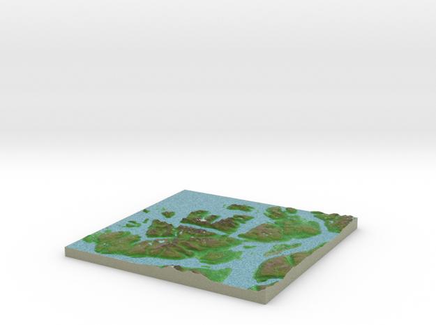 Terrafab generated model Thu Oct 13 2016 14:09:32  in Full Color Sandstone