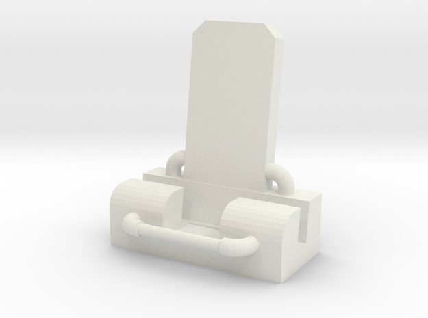 iPhone 7 Pipe Throne Stand in White Strong & Flexible
