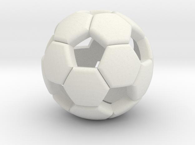 Soccer ball 1505081058 in White Natural Versatile Plastic