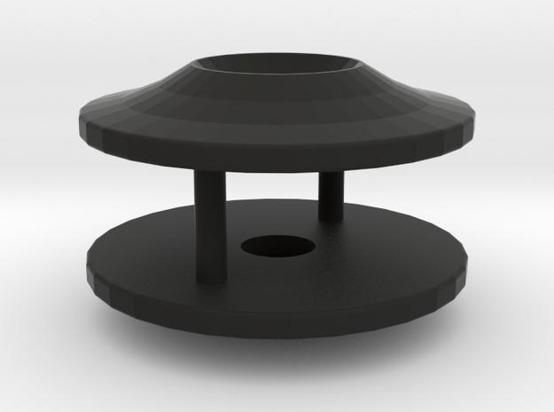 TC Wingmount  in Black Natural Versatile Plastic