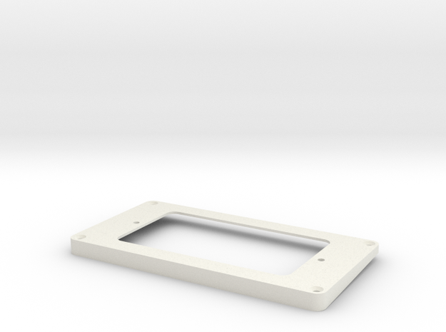 WRHB to Covered Humbucker Mount Neck in White Natural Versatile Plastic