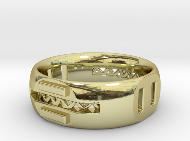 Supports in 18k Gold Plated Brass
