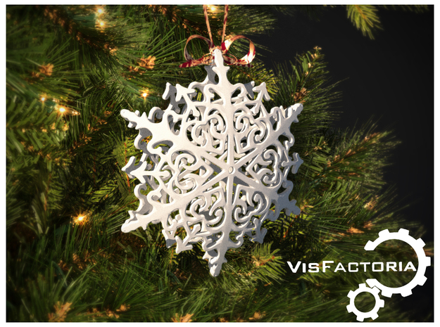 Royal Christmas Snowflake