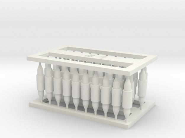 MOF Connector01 (40) in White Natural Versatile Plastic