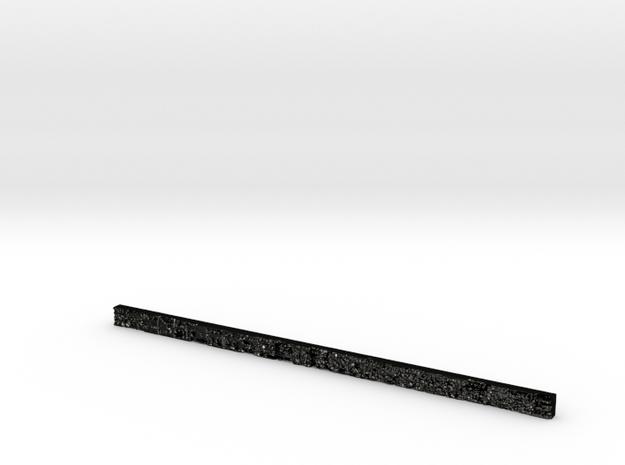 slightly off 24 inches ruler version 000010 in Matte Black Steel