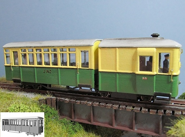 009 Sentinel railcar long coach