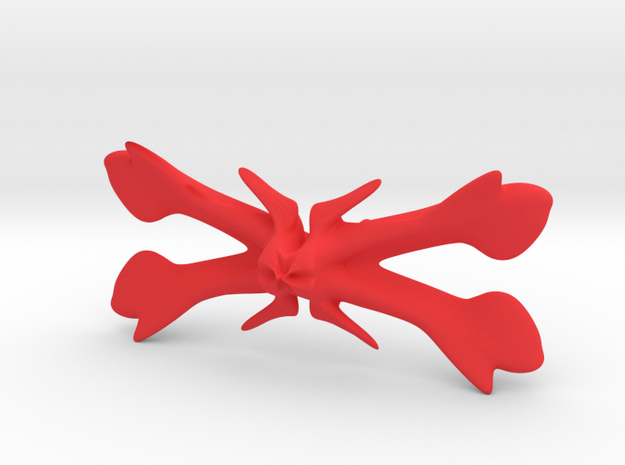 Bowtie bones in Red Strong & Flexible Polished