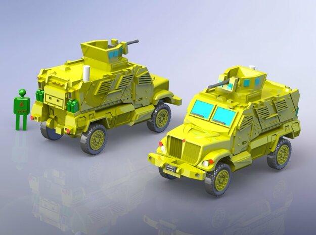 International MaxxPro MRAP Vehicle 1/285