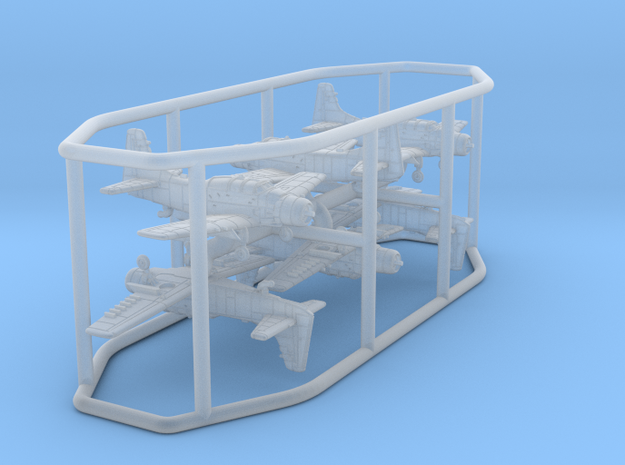 1/700 Douglas AD-5 Skyraider (gears down; X6)