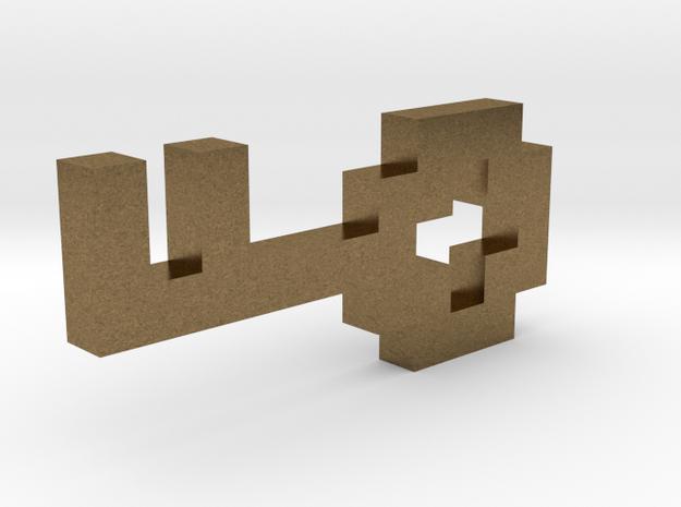 Pixel Key 3d printed