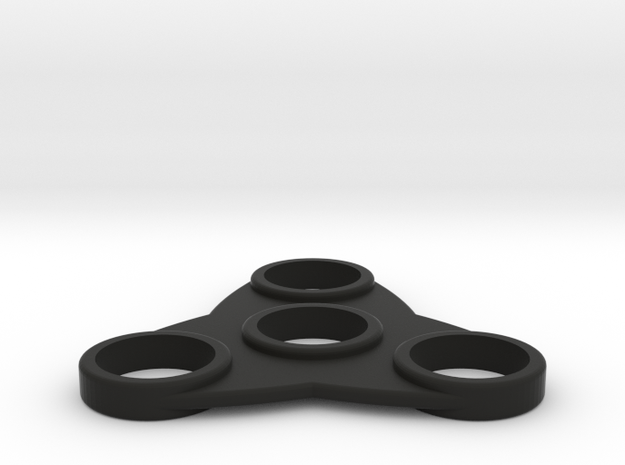 The Tsar - Fidget Spinner in Black Strong & Flexible