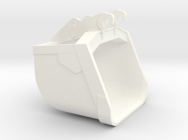365 Sand Bucket in White Strong & Flexible Polished