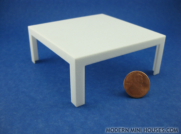 Modern Coffee Table 1:12 scale