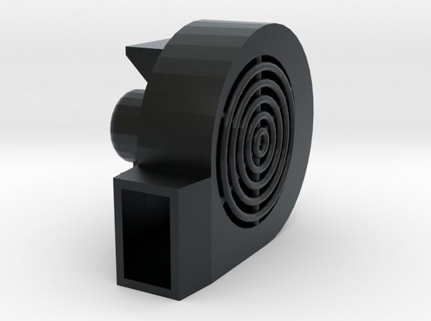 1/64 Centrifugal Fan in Black Hi-Def Acrylate