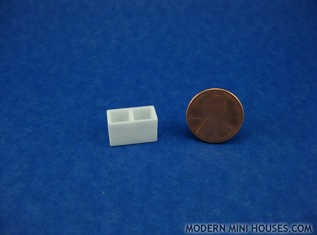 Bath Double Canister 1:12 scale 3d printed