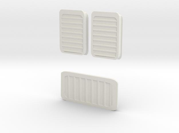 Rb 540 Lfter Set Ersatzteil 1 in White Strong & Flexible: 1:120