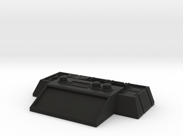 V2 Stand - Control Box in Black Natural Versatile Plastic