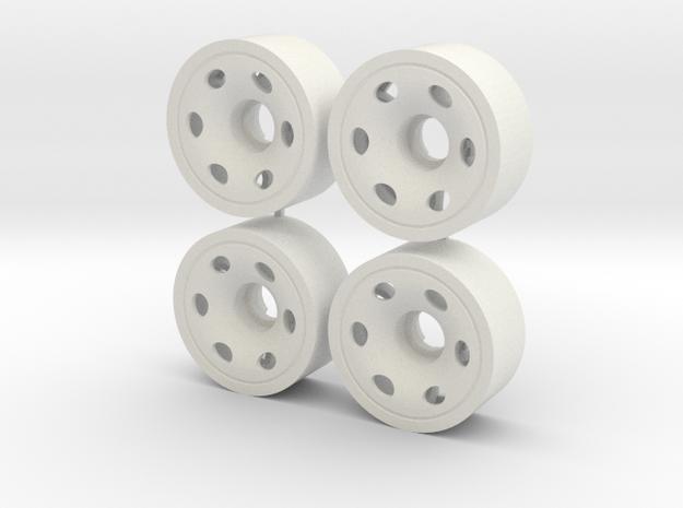MINI Z FRONT 195 +05 in White Natural Versatile Plastic