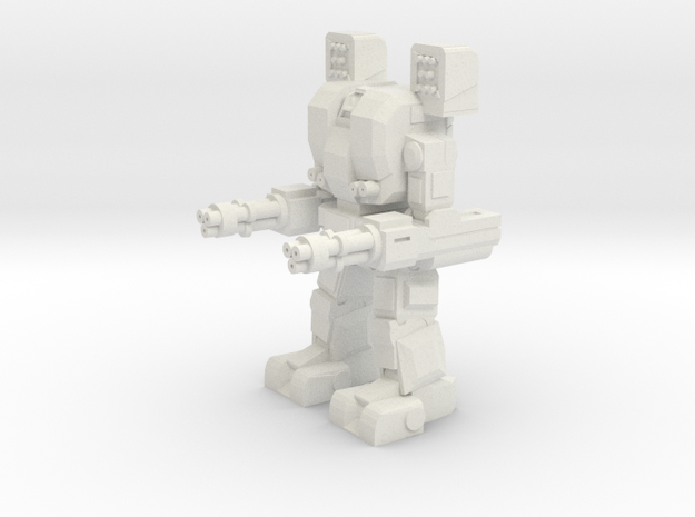 Dagger Assault Walker in White Natural Versatile Plastic