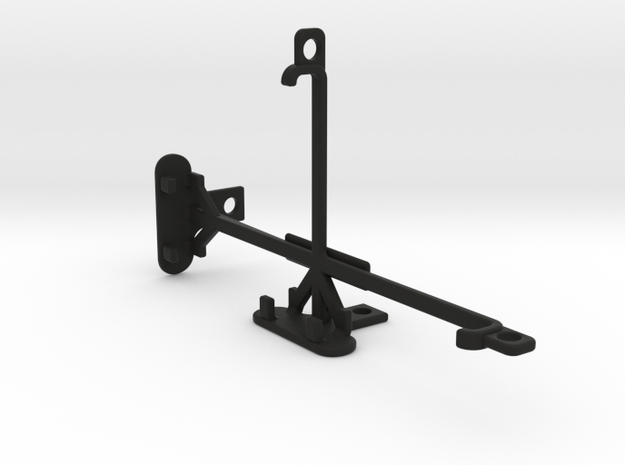 alcatel Pop 4S tripod & stabilizer mount in Black Natural Versatile Plastic