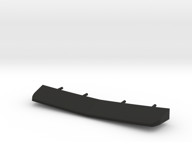 1/96 scale Burke Stern Flap in Black Strong & Flexible