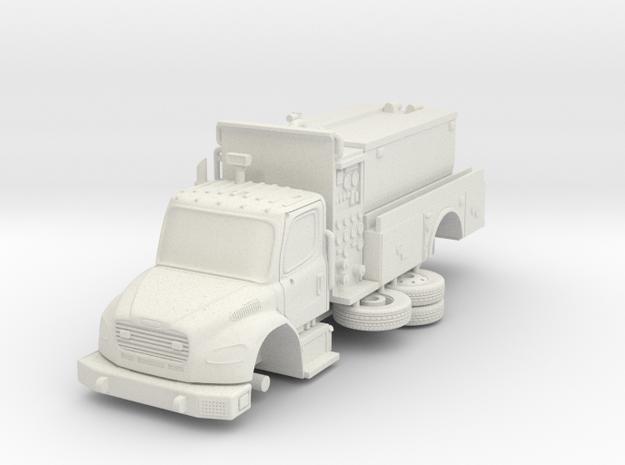 1/64 FDNY Seagrave Foam tanker in White Natural Versatile Plastic: 1:64
