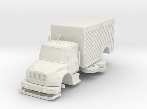 1/64 FDNY seagrave Mask Service Unit in White Strong & Flexible