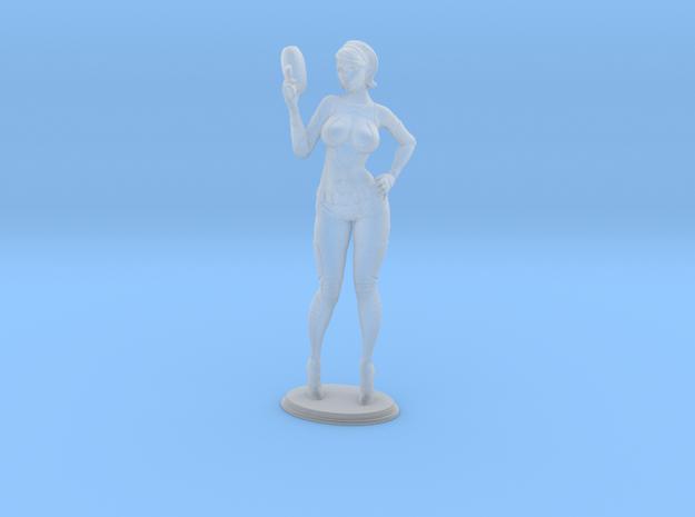 Mini Lana in Smooth Fine Detail Plastic