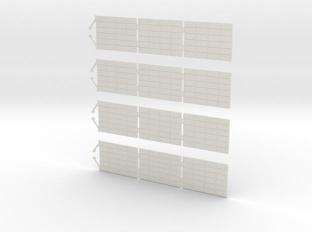 Orion SM Solar Panels 1:48 in White Natural Versatile Plastic