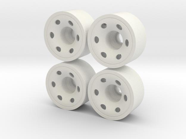 MINI Z-REAR 215+03 in White Natural Versatile Plastic