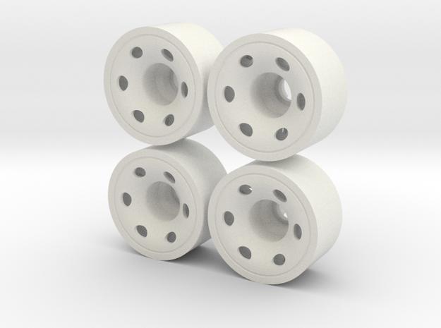 MINI Z-REAR 215+035 in White Natural Versatile Plastic