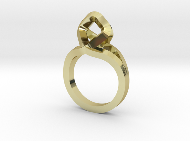 Sharp Rhythm Ring, us size 5 ,d=15,5 mm