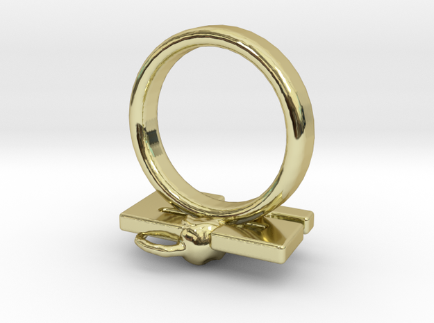 Die Antwoord 23 rat Ring Size 5.5