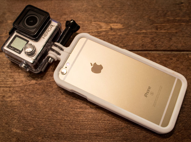 M1X PRO IPhone 6 & 6s in White Strong & Flexible