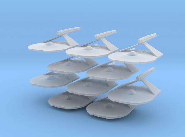 1/7000 Destroyer Larson v2 - 10 ships pack in Smooth Fine Detail Plastic