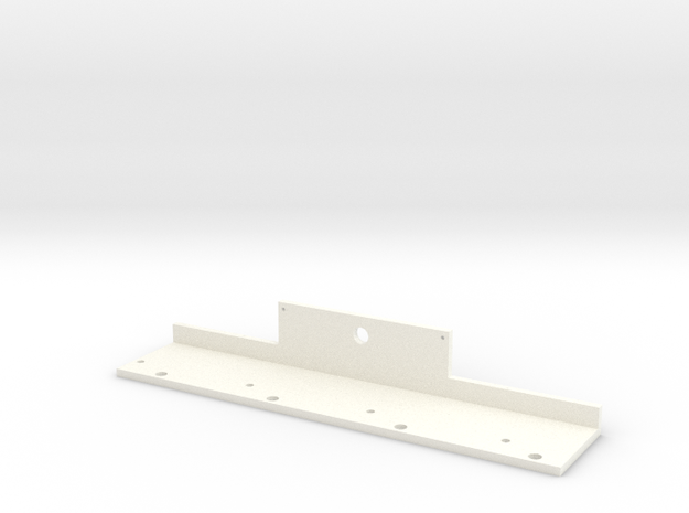 Surger string holder thing in White Processed Versatile Plastic