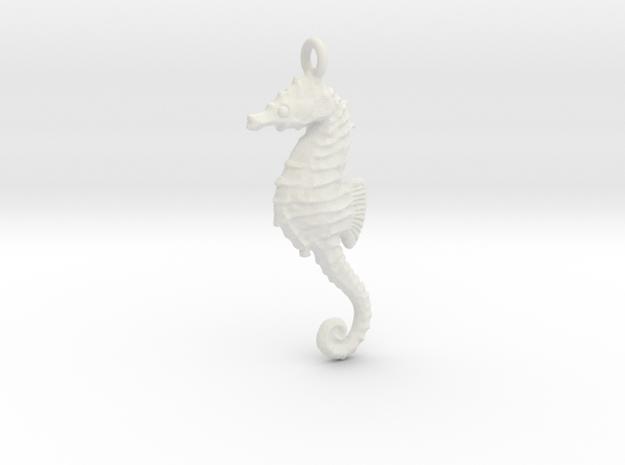 Sea Horse 1610261358 in White Natural Versatile Plastic